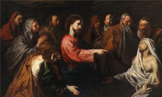 Giuseppe de Ribera. The Resurrection of Lazarus