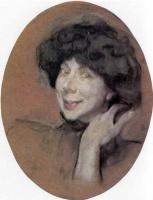 Valentin Aleksandrovich Serov. Portrait Of A. K. Benois