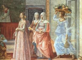Доменико Гирландайо. Рождение Иоанна Крестителя