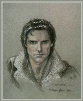 Робин Вуд. Мужской портрет