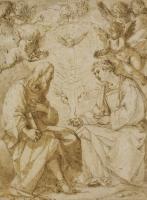 Джованни Бальоне (Баглионе). Святой Павел и святой Стефан с ангелами