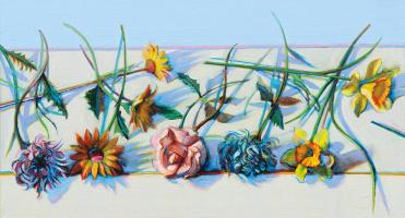 Уэйн Тибо. Искусственные цветы