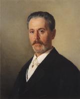 Николай Васильевич Неврев. Портрет Я. Ф. Гартунга. 1897
