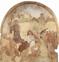 Якопо Понтормо. Цикл фресок Страсти Христовы в Чертоза дель Галуззо, сцена: Христос в Гефсиманском саду, фрагмент