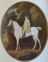 Джордж Стаббс. Автопортрет на лошади