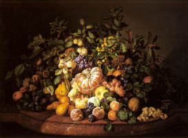 Леопольд Зинноггер. Натюрморт с фруктами