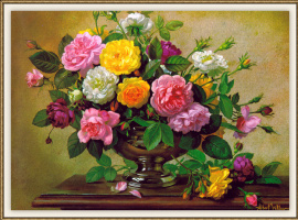 Альберт Уильямс. Цветы