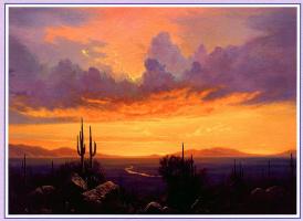 Уильям Скотт Дженнингс. Пустыня