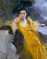 Франсуа Фламенг. Портрет мадам Мари-Луизы