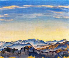 Фердинанд Ходлер. Голубое небо