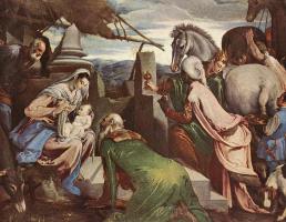 Якопо да Понте Бассано. Поклонение