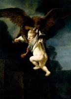 Рембрандт Ван Рейн. Похищение Ганимеда