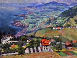 Ilya Ivanovich Mashkov. Mountain landscape