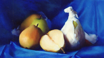 Мэри Минифи. Натюрморт с грушами