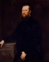 Якопо Тинторетто. Портрет бородатого венецианского дворянина