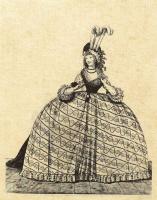 Николай Иннокентий Вильгельм Клеменс фон Хайделоф. Платье для приема при дворе