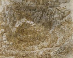 Leonardo da Vinci. A deluge