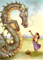 Трина Шарт Хайман. Большой дракон и яблоко