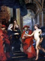 Peter Paul Rubens. The Treaty of Angouleme