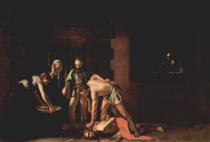 Michelangelo Merisi de Caravaggio. The Beheading Of John The Baptist