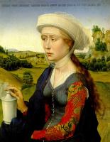 Рогир ван дер Вейден. Триптих Брак. Фрагмент