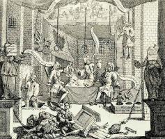 Уильям Хогарт. Чистосердечное изображение английского театра