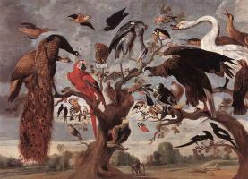 Jan van Kessel Elder. Mockery Of The Owl