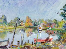 David Davidovich Burliuk. Water view