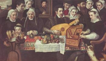 Frans Floris. The family van Berchem