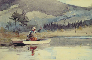 Winslow Homer. On the water on a Sunny day