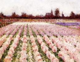 Джордж Хичкок. Цветочное поле