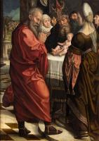 Бернард ван Орлей. Обрезание Христа (лицевая сторона)