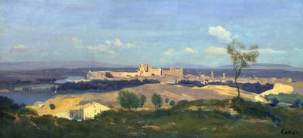 Camille Corot. Avignon