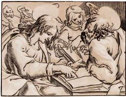 Жорж Лаллеман. Евангелисты Матфей и Иоанн