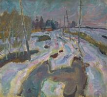 The road to D. Chernavino