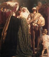 Frederic Leighton. Dante in exile