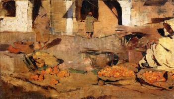 Moroccan fruit market