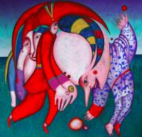 """Михаил Шемякин. """"Танец с фруктами"""""""