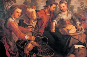 Иоахим Бекелар (Бейкелар). На рынке