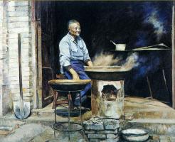 Цзян Хуэй. Старый повар ресторана