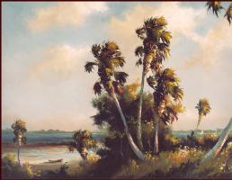 Гарольд Ньютон. Тропический пейзаж 49