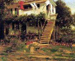 Пол Корноуер. Лестница в сад