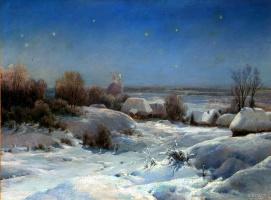 Ivan Avgustovich Welz. Ukrainian night