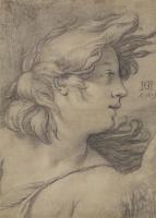 Хендрик Гольциус. Голова ангела. 1609