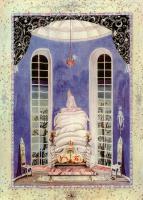 """Кей Нильсен. Иллюстрация к сказке """"Принцесса на горошине"""" Г. Х. Андерсена"""