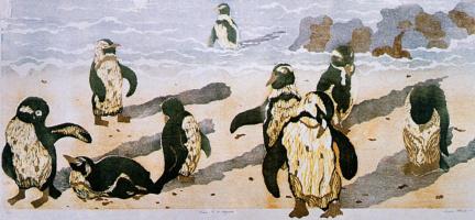 Луиза Морин. Пингвины