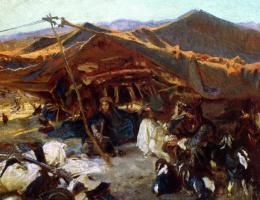 John Singer Sargent. The Bedouin camp