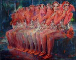 "Svetlana Alexandrovna Malakhova. ""Red Ballerinas Good Luck"""
