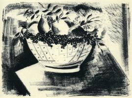 Морис де Вламинк. Натюрморт с фруктами