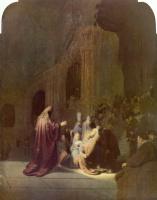 Рембрандт Ван Рейн. Симеон во храме